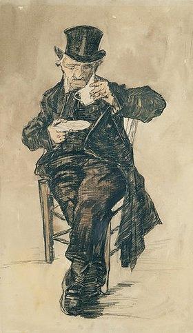 Vincent van Gogh: Mann mit Kaffeetasse