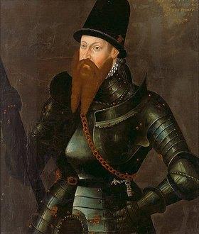 Deutsch (Andreas Richl d.Ä.?): Markgraf Albrecht Alcibiades von Brandenburg-Kulmbach
