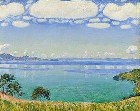 Ferdinand Hodler: Der Genfer See von Chexbres aus