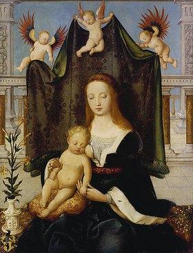 Hans Holbein d.Ä.: Madonna mit Kind, sogenannte Böhlersche Madonna