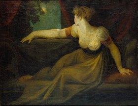 Johann Heinrich Füssli: Dame im Mondschein