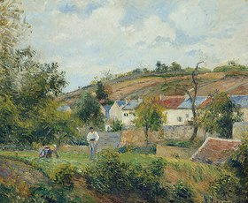 Camille Pissarro: L'Hermitage, Pontoise