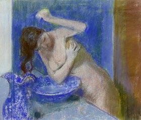 Edgar Degas: Junge Frau bei ihrer Toilette