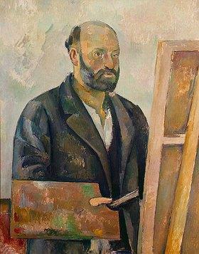 Paul Cézanne: Selbstbildnis mit Palette