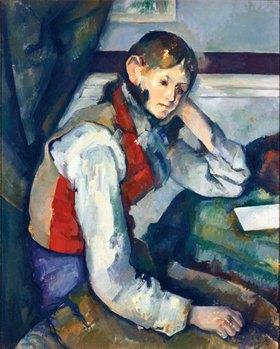 Paul Cézanne: Der Knabe mit der roten Weste
