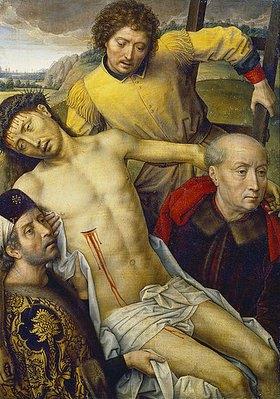 Hans Memling: Die Grablegung Christi