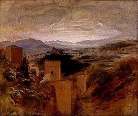 Franz von Lenbach: Die Vega von Granada