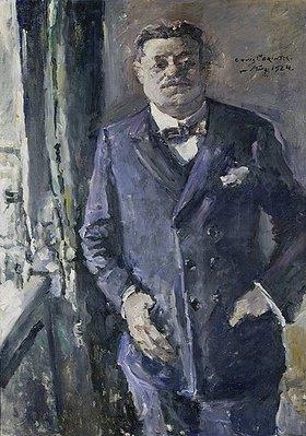 Lovis Corinth: Bildnis des Reichspräsidenten Friedrich Ebert