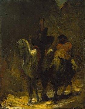 Honoré Daumier: Don Quichotte und Sancho Pansa