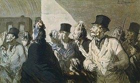 Honoré Daumier: Die Abfahrt des Zuges