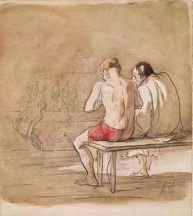 Honoré Daumier: Die Badenden