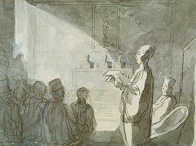 Honoré Daumier: Advokat vor dem Tribunal