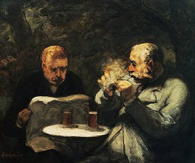 Honoré Daumier: Die Biertrinker