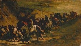 Honoré Daumier: Die Flüchtenden