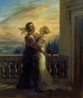 Eugene Delacroix: Romeo und Julia