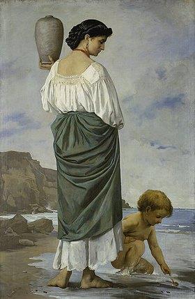 Anselm Feuerbach: Am Strande