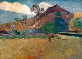 Paul Gauguin: Berge auf Tahiti
