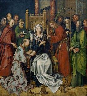 Hans Holbein d.Ä.: Tod Mariae