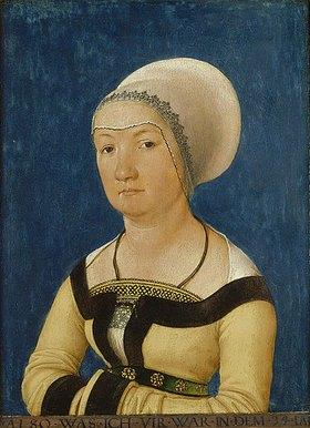 Hans Holbein d.Ä.: Bildnis einer 34-jährigen Frau