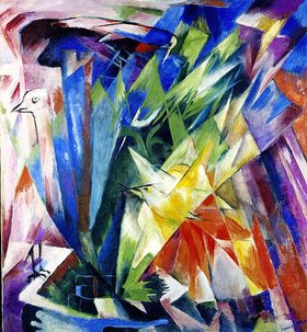 Franz Marc: Vögel