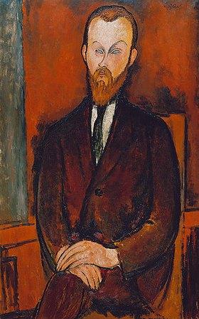 Amadeo Modigliani: Bildnis des Herrn Wielhorski