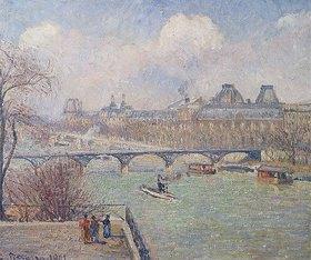 Camille Pissarro: Seine mit Pont-Neuf