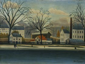 Henri Rousseau: Vorort am Ufer der Marne