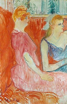 Henri de Toulouse-Lautrec: Im Salon der Rue des Moulins
