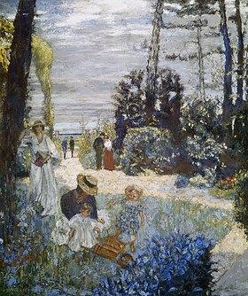 Edouard Vuillard: In einem Garten in der Normandie