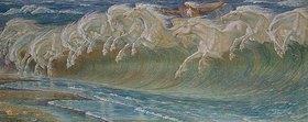 Walter Crane: Die Rosse des Neptun