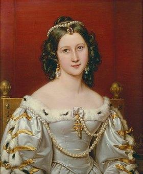 Joseph Karl Stieler: Charlotte von Owen, geb.von Hagen. Schönheitengalerie König Ludwigs I