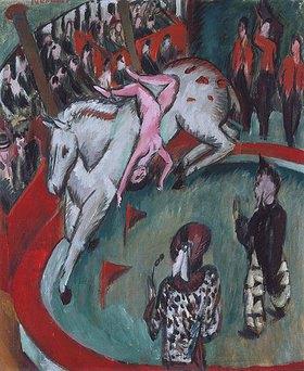 Ernst Ludwig Kirchner: Die Zirkusreiterin