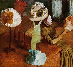 Edgar Degas: Die Modistin