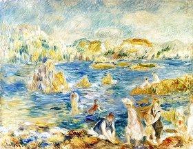 Auguste Renoir: Strand von Guernsey