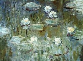 Claude Monet: Nymphéas. 1910. (Ausschnitt)