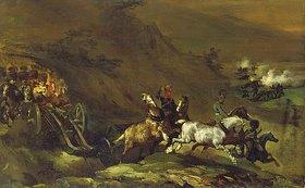 Théodore Géricault: Auffahrende Artillerie