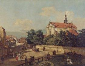 Bernardo (Canaletto) Bellotto: Die Senatorenstrasse in Warschau