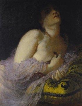 Arnold Böcklin: Die sterbende Kleopatra