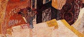 Pierre Bonnard: Stilleben mit Blumenvase und Büchern