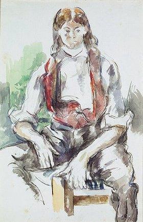 Paul Cézanne: Knabe mit roter Weste