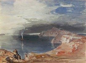 Carl Rottmann: Insel Santorin
