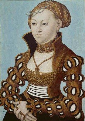 Lucas Cranach d.Ä.: Prinzessin Maria von Sachsen
