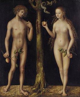 Lucas Cranach d.Ä.: Adam und Eva