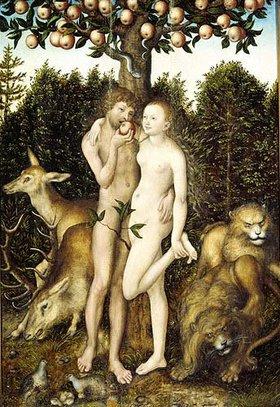 Lucas Cranach d.Ä.: Der Sündenfall