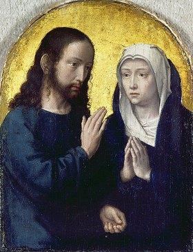 Gerard David: Christi Abschied von Maria