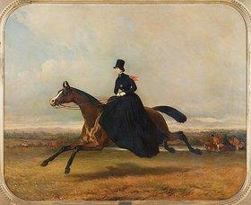 Alfred Dedreux: Königin Victoria zu Pferde