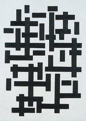 Theo van Doesburg: Komposition weiss-schwarz