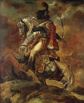 Théodore Géricault: Offizier zu Pferde mit gezogenem Säbel