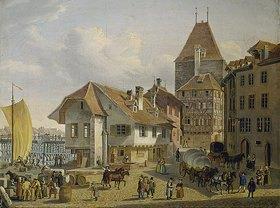 Konstantin Guise: Die Schifflände in Basel