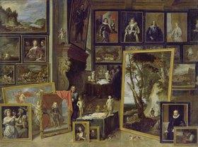 David Teniers: Ansicht der Galerie des Erzherzogs Leopold in Brüssel (II)